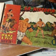 Tebeos: TORG HIJO DE LEON DEL 1 AL 35 - TODO ORIGINAL. Lote 128969223
