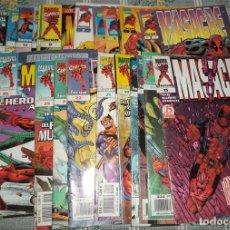 Tebeos: MASACRE COMICS MARVEL FORUM 30 NUMEROS CON NUMERO 1. Lote 124320707