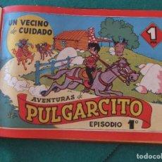 Tebeos: AVENTURAS DE PULGARCITO COLECCION COMPLETA EDITORIAL BRUGUERA 1944. Lote 124494531