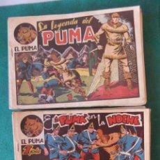 Tebeos: EL PUMA 1ª SERIE COLECCION COMPLETA MARCO 1952 ORIGINAL. Lote 124498975