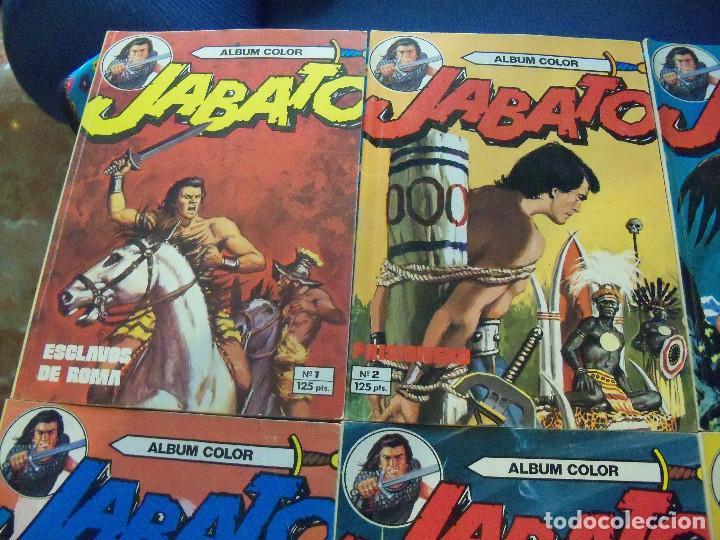 JABATO ÁLBUM COLOR. COLECCIÓN COMPLETA. 12 EJEMPLARES. EDITORIAL BRUGUERA 1980 (Tebeos y Comics - Tebeos Colecciones y Lotes Avanzados)