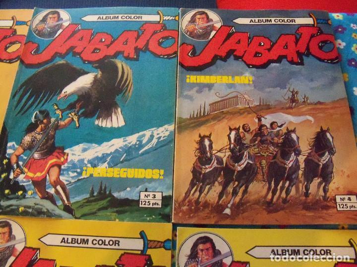Tebeos: Jabato Álbum Color. Colección Completa. 12 Ejemplares. Editorial Bruguera 1980 - Foto 2 - 124525947