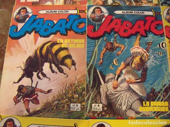 Tebeos: Jabato Álbum Color. Colección Completa. 12 Ejemplares. Editorial Bruguera 1980 - Foto 3 - 124525947