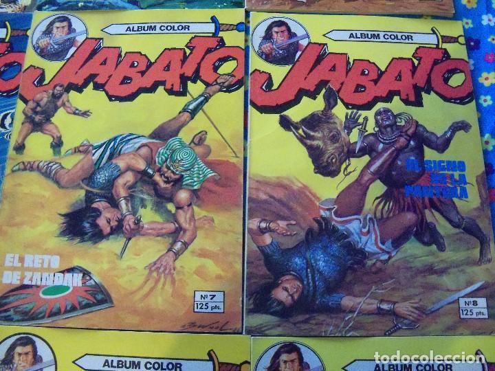 Tebeos: Jabato Álbum Color. Colección Completa. 12 Ejemplares. Editorial Bruguera 1980 - Foto 4 - 124525947