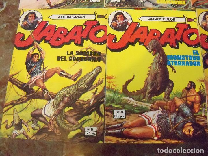 Tebeos: Jabato Álbum Color. Colección Completa. 12 Ejemplares. Editorial Bruguera 1980 - Foto 5 - 124525947