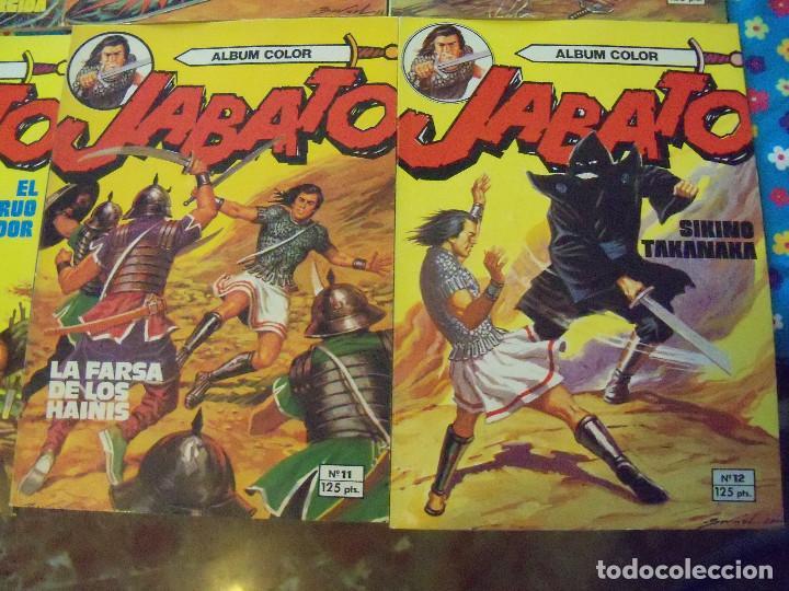 Tebeos: Jabato Álbum Color. Colección Completa. 12 Ejemplares. Editorial Bruguera 1980 - Foto 6 - 124525947
