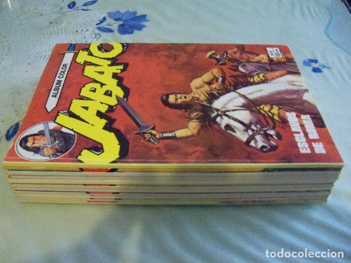 Tebeos: Jabato Álbum Color. Colección Completa. 12 Ejemplares. Editorial Bruguera 1980 - Foto 8 - 124525947
