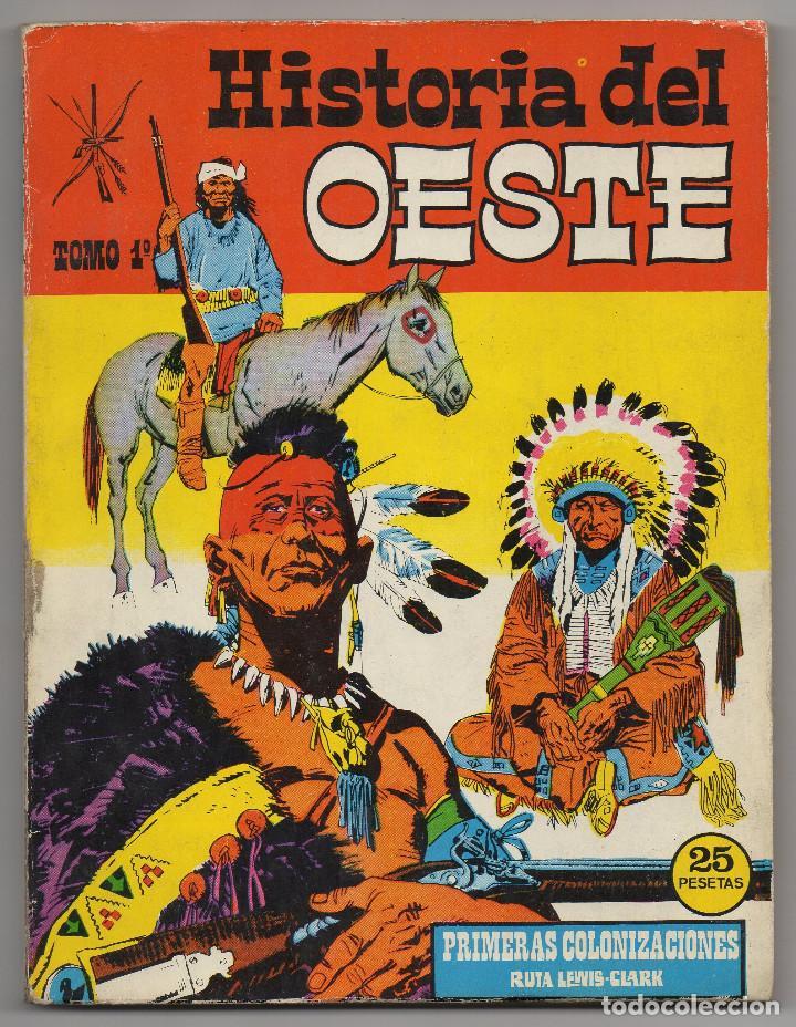 Tebeos: HISTORIA DEL OESTE ¡¡COMPLETA!! (Euredit 1969) 17 novelas. - Foto 2 - 125194063