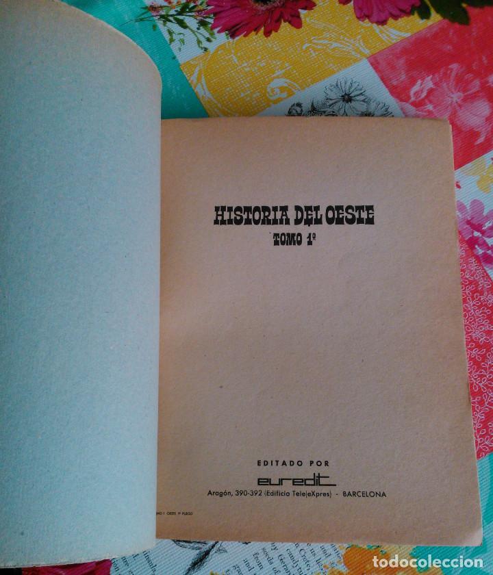 Tebeos: HISTORIA DEL OESTE ¡¡COMPLETA!! (Euredit 1969) 17 novelas. - Foto 3 - 125194063