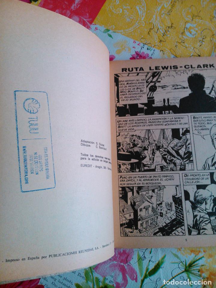 Tebeos: HISTORIA DEL OESTE ¡¡COMPLETA!! (Euredit 1969) 17 novelas. - Foto 4 - 125194063