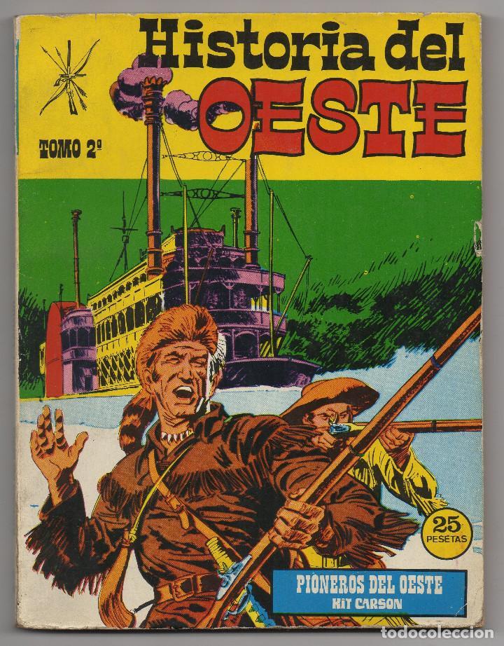 Tebeos: HISTORIA DEL OESTE ¡¡COMPLETA!! (Euredit 1969) 17 novelas. - Foto 9 - 125194063