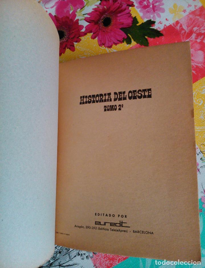 Tebeos: HISTORIA DEL OESTE ¡¡COMPLETA!! (Euredit 1969) 17 novelas. - Foto 10 - 125194063