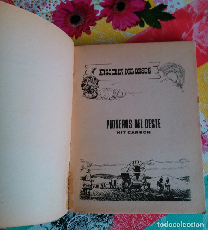 Tebeos: HISTORIA DEL OESTE ¡¡COMPLETA!! (Euredit 1969) 17 novelas. - Foto 11 - 125194063