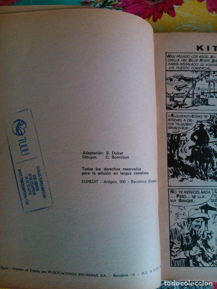 Tebeos: HISTORIA DEL OESTE ¡¡COMPLETA!! (Euredit 1969) 17 novelas. - Foto 12 - 125194063