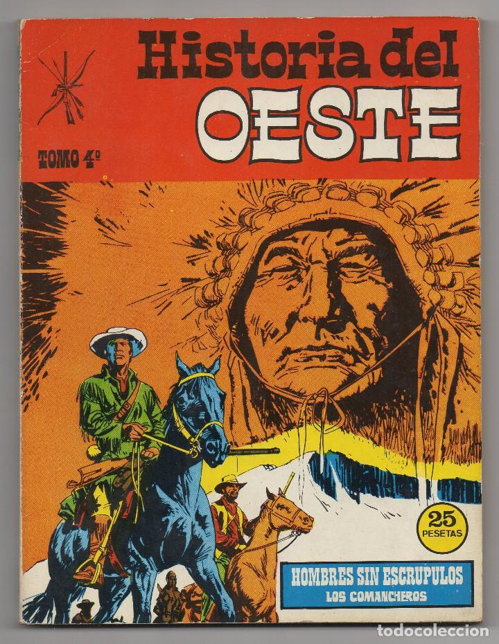 Tebeos: HISTORIA DEL OESTE ¡¡COMPLETA!! (Euredit 1969) 17 novelas. - Foto 19 - 125194063