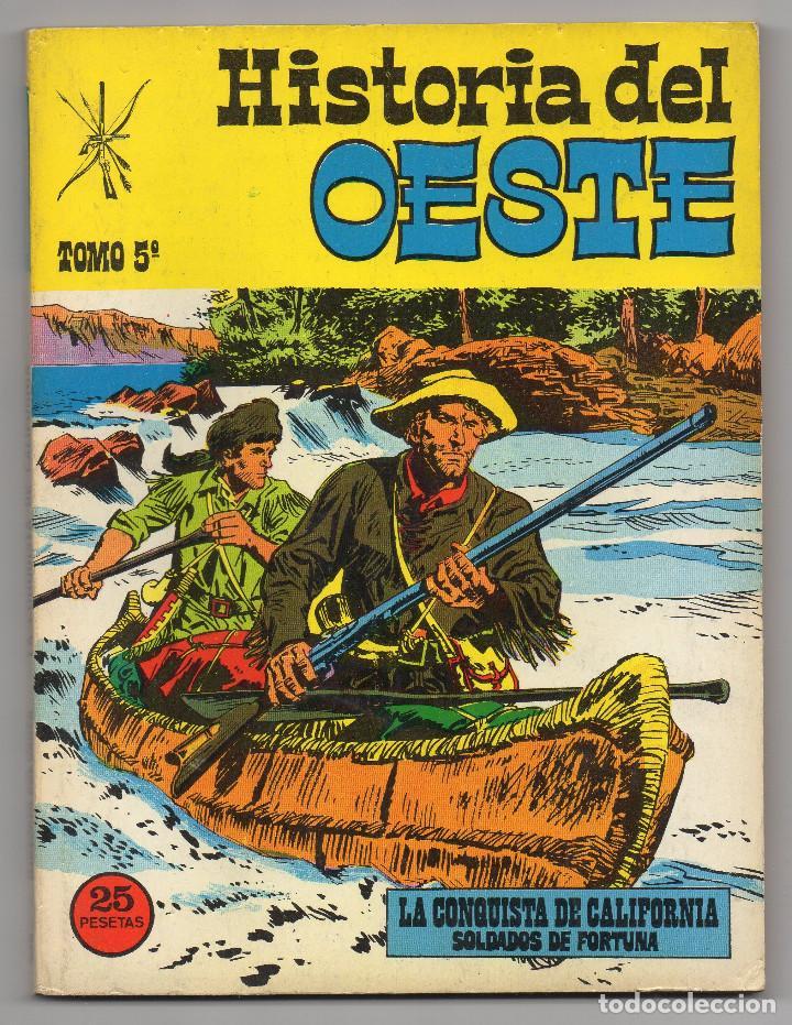 Tebeos: HISTORIA DEL OESTE ¡¡COMPLETA!! (Euredit 1969) 17 novelas. - Foto 24 - 125194063