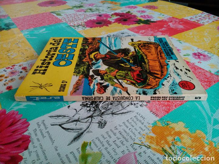 Tebeos: HISTORIA DEL OESTE ¡¡COMPLETA!! (Euredit 1969) 17 novelas. - Foto 27 - 125194063