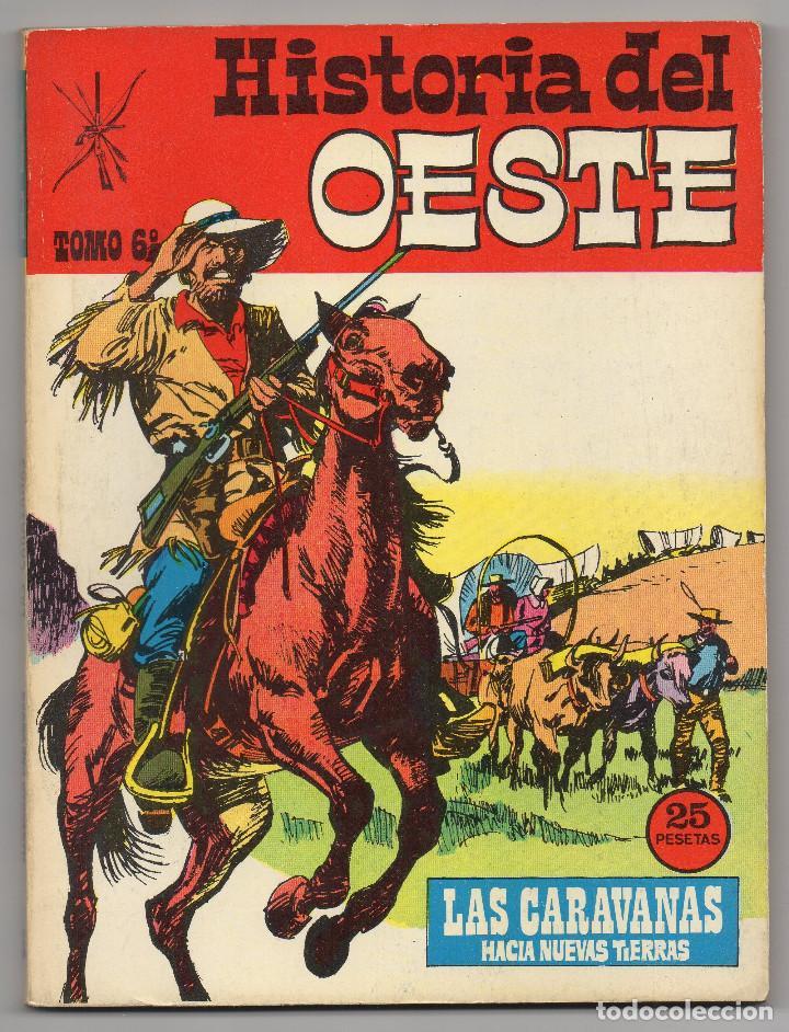 Tebeos: HISTORIA DEL OESTE ¡¡COMPLETA!! (Euredit 1969) 17 novelas. - Foto 29 - 125194063
