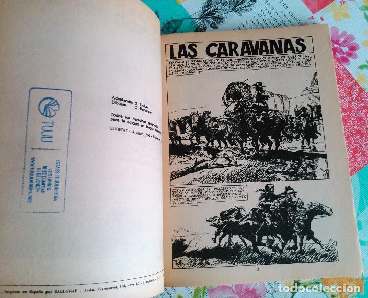 Tebeos: HISTORIA DEL OESTE ¡¡COMPLETA!! (Euredit 1969) 17 novelas. - Foto 30 - 125194063