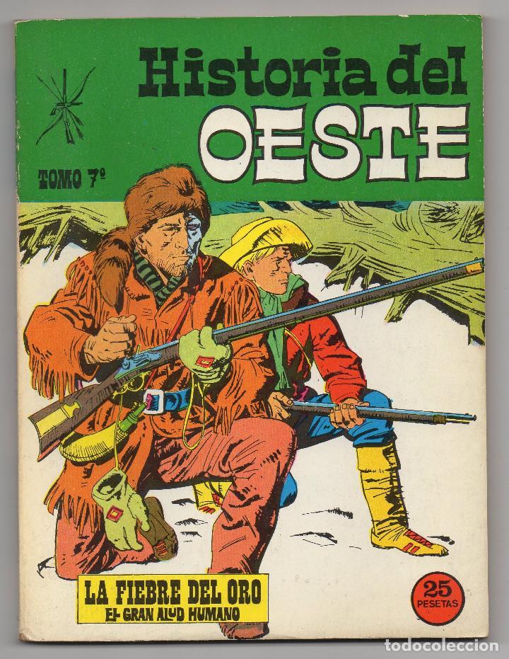 Tebeos: HISTORIA DEL OESTE ¡¡COMPLETA!! (Euredit 1969) 17 novelas. - Foto 34 - 125194063