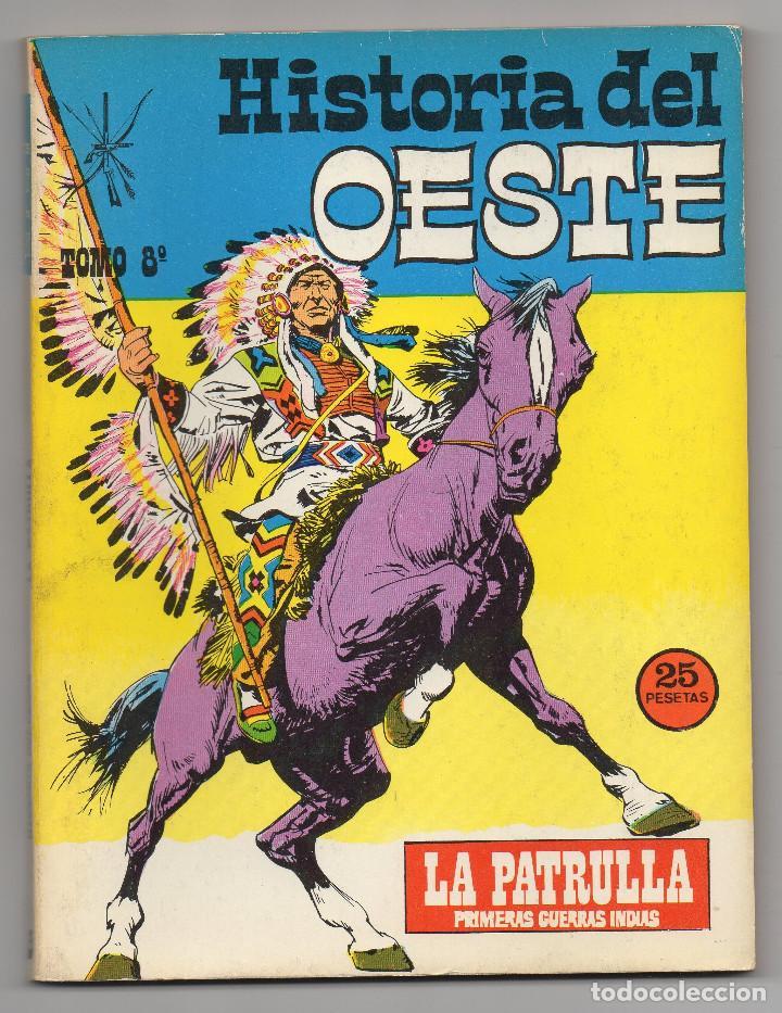 Tebeos: HISTORIA DEL OESTE ¡¡COMPLETA!! (Euredit 1969) 17 novelas. - Foto 39 - 125194063