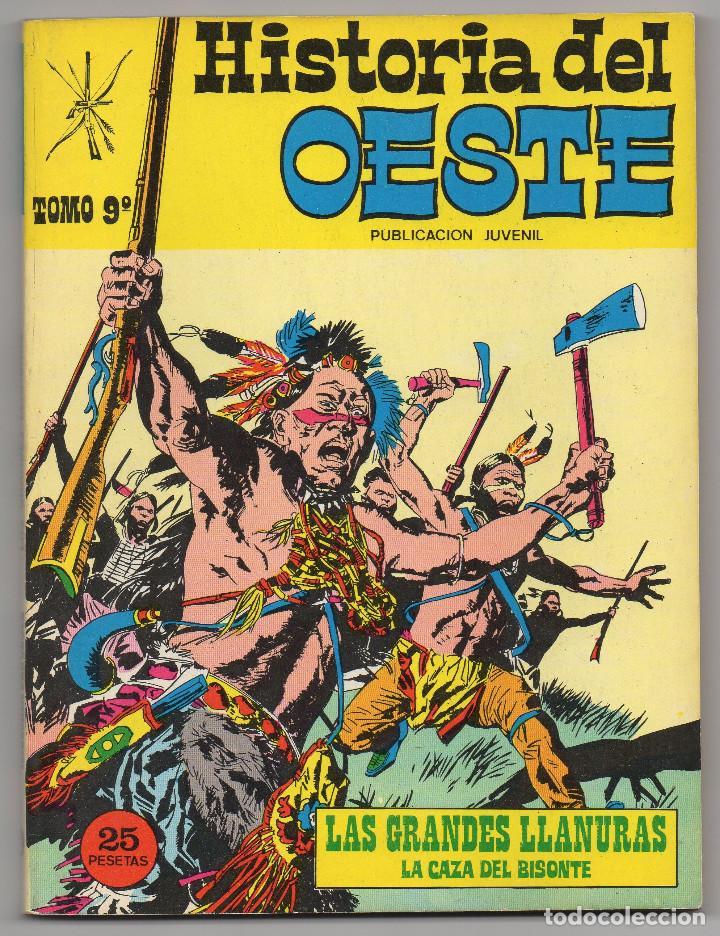 Tebeos: HISTORIA DEL OESTE ¡¡COMPLETA!! (Euredit 1969) 17 novelas. - Foto 43 - 125194063
