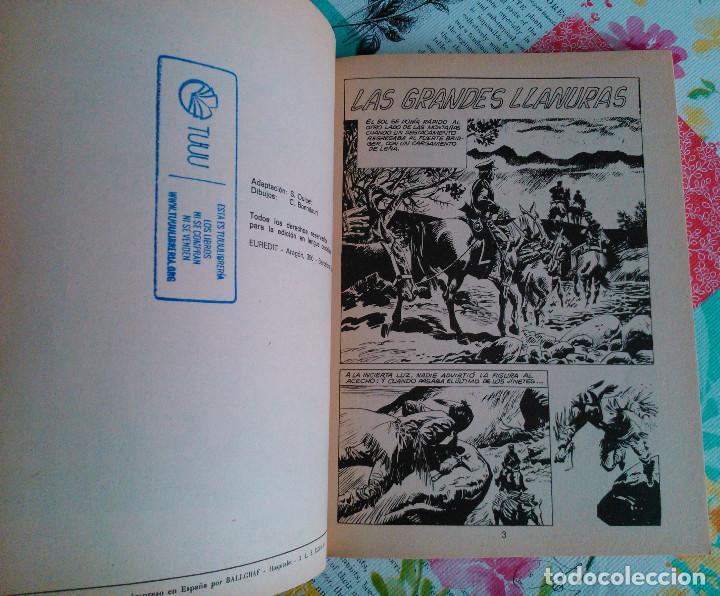 Tebeos: HISTORIA DEL OESTE ¡¡COMPLETA!! (Euredit 1969) 17 novelas. - Foto 44 - 125194063