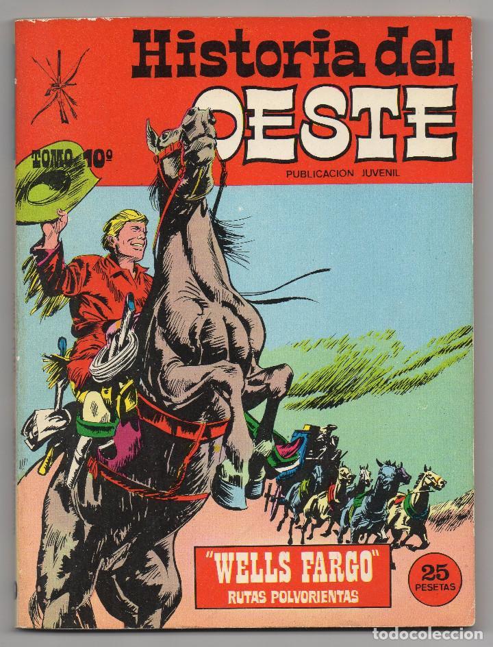 Tebeos: HISTORIA DEL OESTE ¡¡COMPLETA!! (Euredit 1969) 17 novelas. - Foto 48 - 125194063