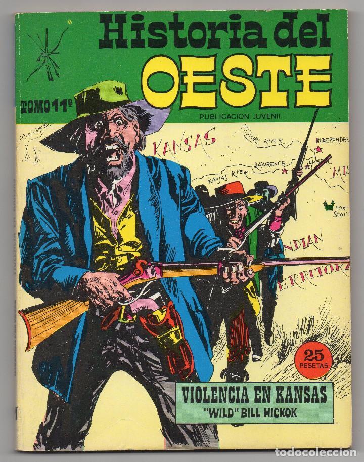 Tebeos: HISTORIA DEL OESTE ¡¡COMPLETA!! (Euredit 1969) 17 novelas. - Foto 53 - 125194063