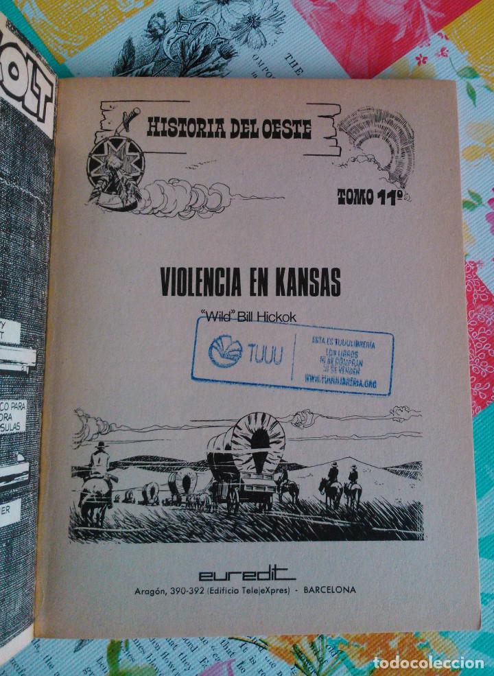 Tebeos: HISTORIA DEL OESTE ¡¡COMPLETA!! (Euredit 1969) 17 novelas. - Foto 54 - 125194063