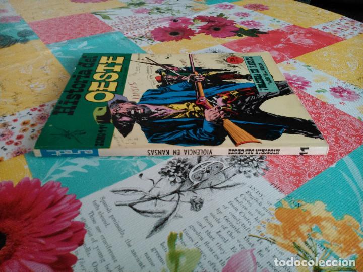 Tebeos: HISTORIA DEL OESTE ¡¡COMPLETA!! (Euredit 1969) 17 novelas. - Foto 55 - 125194063