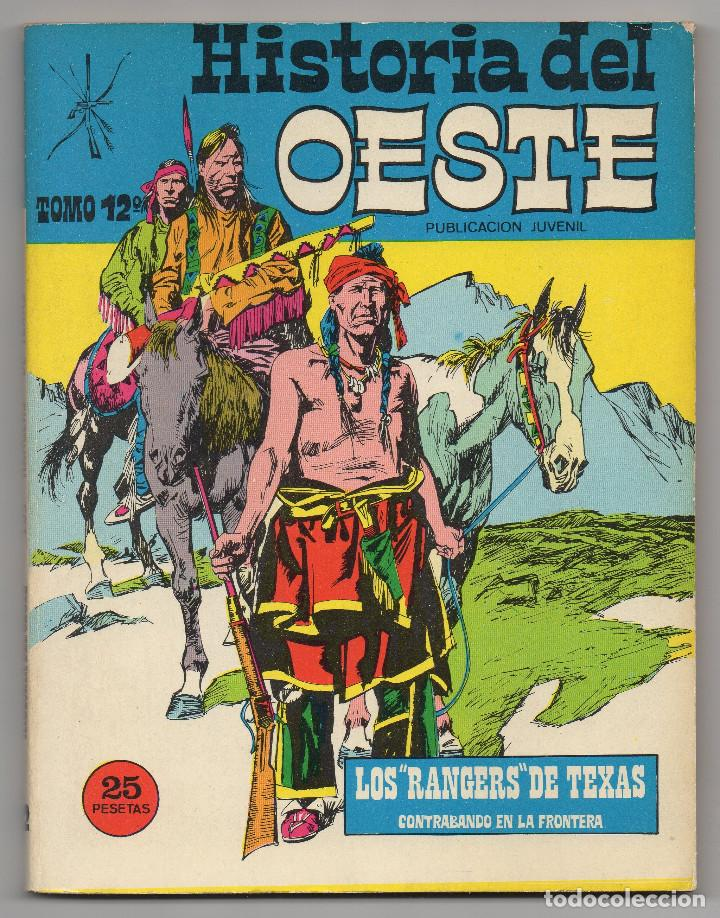 Tebeos: HISTORIA DEL OESTE ¡¡COMPLETA!! (Euredit 1969) 17 novelas. - Foto 57 - 125194063