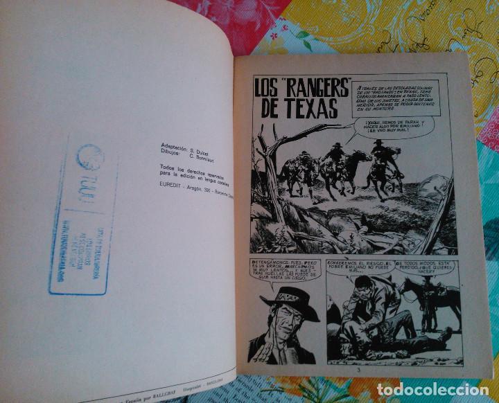 Tebeos: HISTORIA DEL OESTE ¡¡COMPLETA!! (Euredit 1969) 17 novelas. - Foto 58 - 125194063