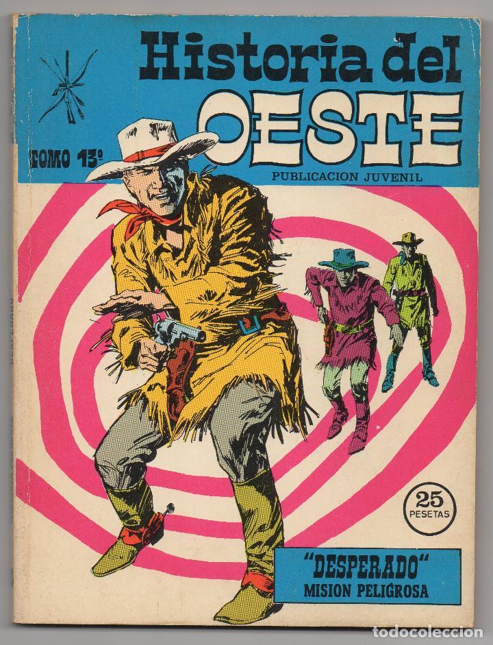 Tebeos: HISTORIA DEL OESTE ¡¡COMPLETA!! (Euredit 1969) 17 novelas. - Foto 61 - 125194063
