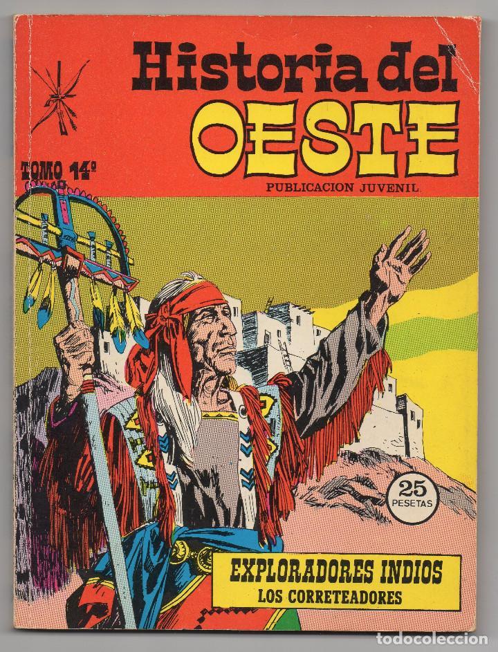 Tebeos: HISTORIA DEL OESTE ¡¡COMPLETA!! (Euredit 1969) 17 novelas. - Foto 64 - 125194063