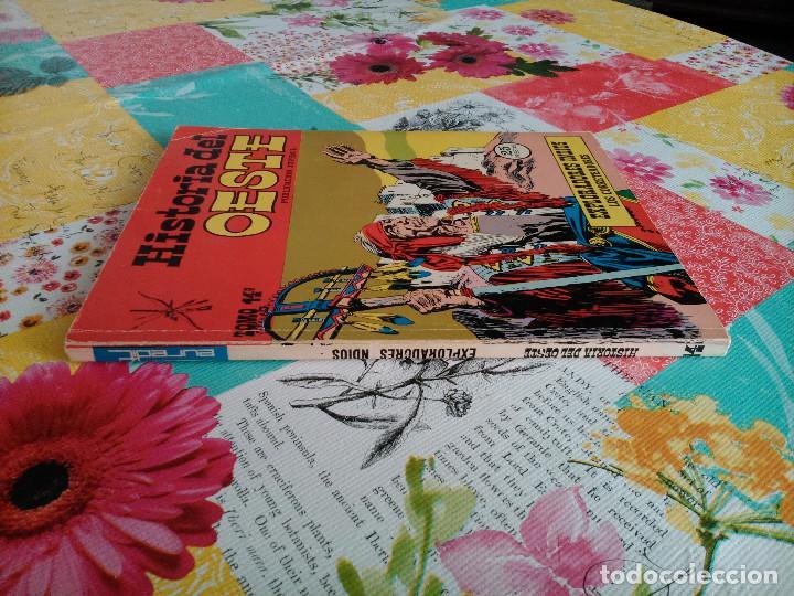 Tebeos: HISTORIA DEL OESTE ¡¡COMPLETA!! (Euredit 1969) 17 novelas. - Foto 65 - 125194063