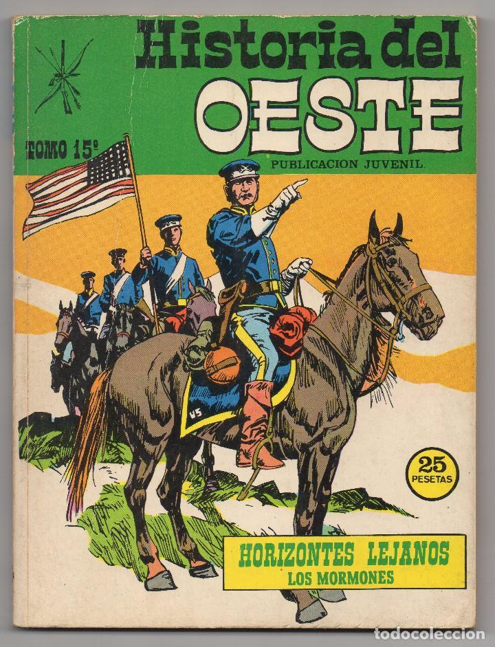 Tebeos: HISTORIA DEL OESTE ¡¡COMPLETA!! (Euredit 1969) 17 novelas. - Foto 67 - 125194063