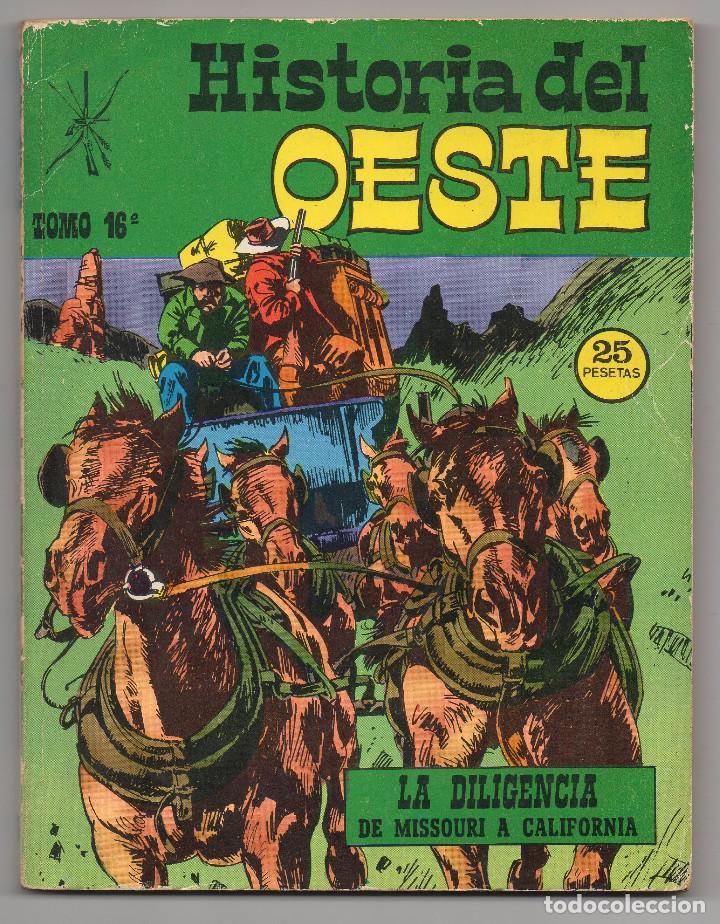 Tebeos: HISTORIA DEL OESTE ¡¡COMPLETA!! (Euredit 1969) 17 novelas. - Foto 70 - 125194063