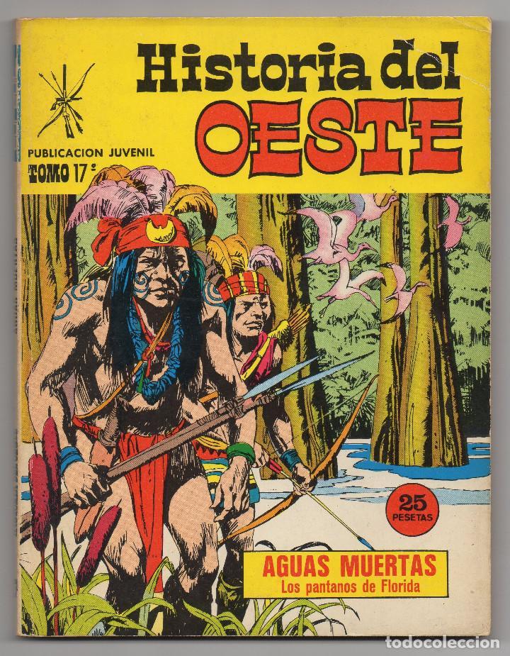Tebeos: HISTORIA DEL OESTE ¡¡COMPLETA!! (Euredit 1969) 17 novelas. - Foto 73 - 125194063