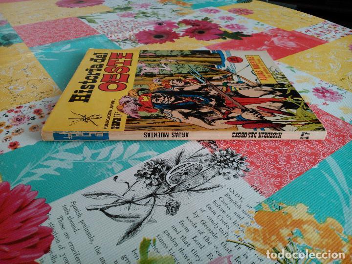 Tebeos: HISTORIA DEL OESTE ¡¡COMPLETA!! (Euredit 1969) 17 novelas. - Foto 74 - 125194063