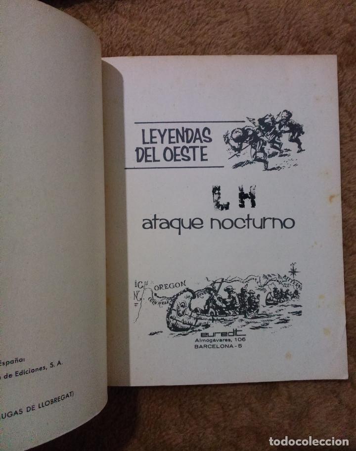 Tebeos: LEYENDAS DEL OESTE ¡¡COMPLETA!! (Euredit 1970) 5 novelas en bastante buen estado. - Foto 7 - 93318350