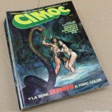 Tebeos: CIMOC -COMPLETA 10 NºS.- 1 AL 10- RIEGO,1979. SUELTOS. MUY BUENOS.. Lote 156372589