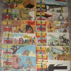 Tebeos: CORAZA DE CASTILLA (MAGA) (LOTE DE 25 NUMEROS). Lote 126952899