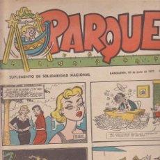 Tebeos: LOTE DE 63 COMICS PARQUE AÑO 1957 CIFRE PEÑARROYA EUGENIO GINER ESCOBAR BELTRAN ENRICH. Lote 126967875