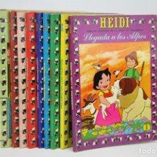Tebeos: CONJUNTO DE CÓMICS - HEIDI / Nº 1 AL 9 - EDICIONES RECREATIVAS - AÑO 1975. Lote 127095510