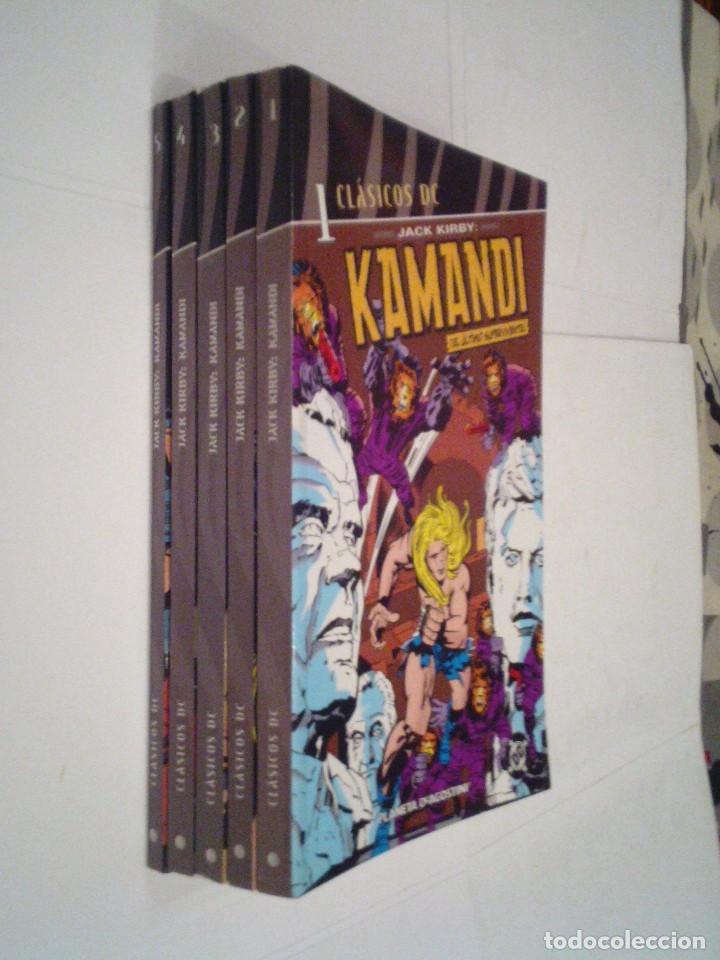 KAMANDI - DC - CLASICOS DC - COLECCION COMPLETA - ED PLANETA - MBE - GORBAUD - CJ 97 (Tebeos y Comics - Tebeos Colecciones y Lotes Avanzados)