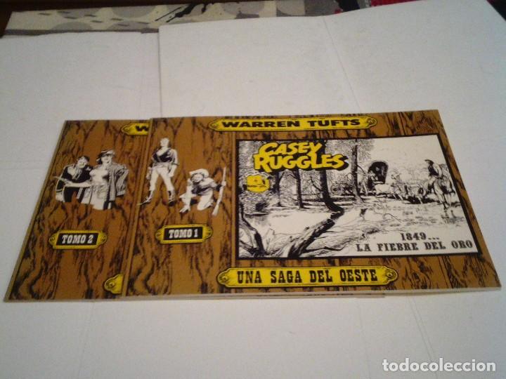 CASEY RUGGLES - WARREN TUFTS - COMPLETA - 2 TOMOS - EDICIONES BO - MBE - AÑO 1983 - GORBAUD (Tebeos y Comics - Tebeos Colecciones y Lotes Avanzados)