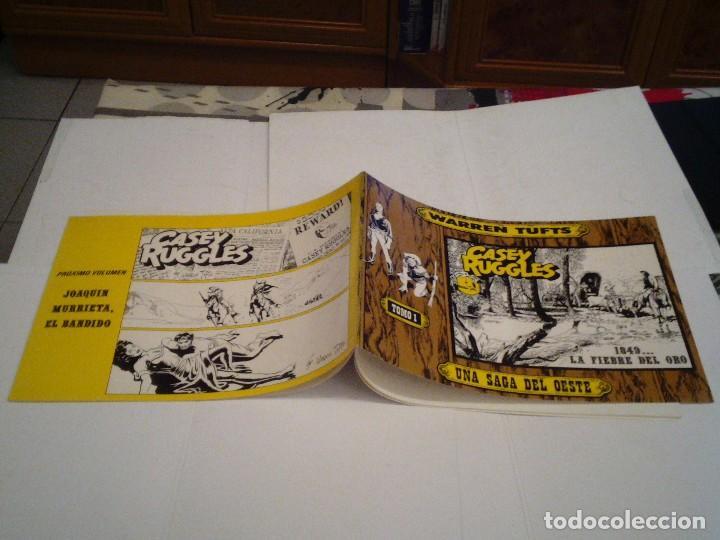 Tebeos: CASEY RUGGLES - Warren Tufts - COMPLETA - 2 TOMOS - EDICIONES BO - MBE - año 1983 - GORBAUD - Foto 2 - 127253475
