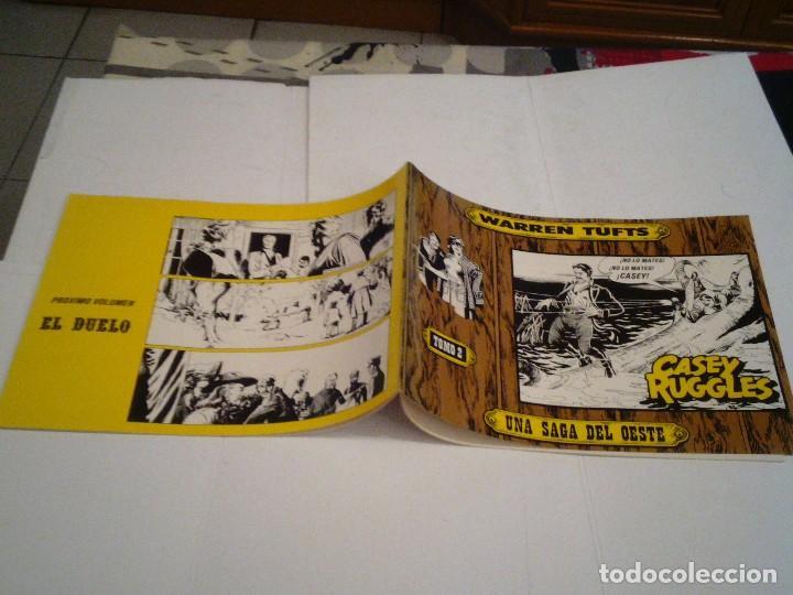 Tebeos: CASEY RUGGLES - Warren Tufts - COMPLETA - 2 TOMOS - EDICIONES BO - MBE - año 1983 - GORBAUD - Foto 3 - 127253475