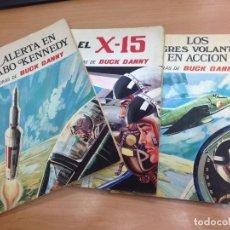 Tebeos: LOTE 3 EJEMPLARES COLECCION DE 4 BUCK DANNY COLECCION HISTORIETAS SERIE AZUL EDICIONES SUSAETA . Lote 127307983